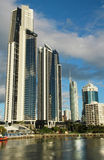 Surfers Paradise. View of the business district in Surfers Paradise, QLD Australia Royalty Free Stock Photography