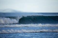 Surfers Scramble Stock Images