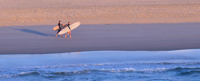 Surfers in Surfers Paradise Queensland Australia Royalty Free Stock Images