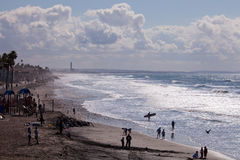 Oceanside Beach, California Stock Photo