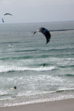Surfers use parasails Royalty Free Stock Photography