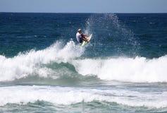 surfest buchan Adrian merewether Australia obraz stock