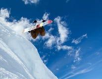 Surfeur en ciel Photo stock