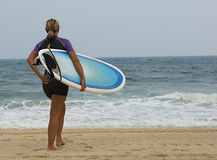 Surfeuse Stock Images
