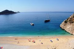Surfez le centre Alacati, dindes la plupart des belles destinations de vacances images stock