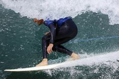 Surfing 002 Royalty Free Stock Photography