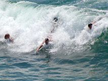 Surfing 2 Royalty Free Stock Photography
