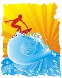 surfing Royaltyfri Bild