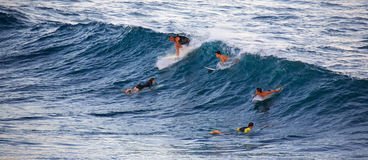 Free Surfing At Ho`okipa Stock Images - 81243304