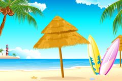 Surfing Board Royalty Free Stock Images