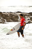 Surfing Competition Royalty Free Stock Photography