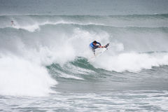 Surfing competition. Geroid McDaid (Sligo) Stock Photos