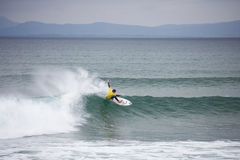 Surfing competition. Stephen Kilfeather Royalty Free Stock Photography