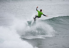 Surfing competition. William Alotti (St Martinque) Stock Photos