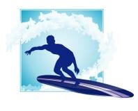 Surfing icon Stock Photos