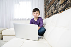 Surfing internet Stock Photo