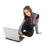 Surfing the internet Royalty Free Stock Images