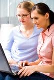 Surfing internet Stock Image