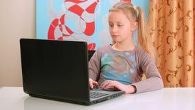 Surfing internet stock video footage