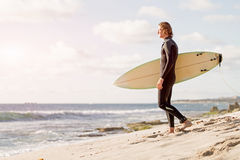 Surfing Is More Than Hobby Royalty Free Stock Images