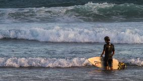 Surfing Mood Royalty Free Stock Photography