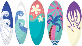 Surfing Pads Stock Photos