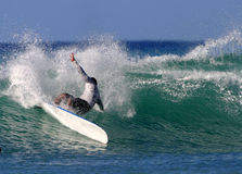 Surfing Power Royalty Free Stock Image