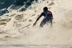 Surfing  Quiksilver & Roxy Pro World Title Event. Stock Photos