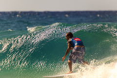 Surfing Quiksilver Royalty Free Stock Photos