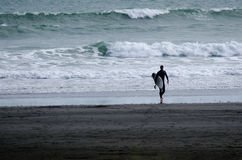 Surfing - Recreation and Sport Stock Image