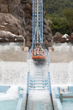 Surfing roller coaster Royalty Free Stock Images
