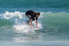 Surfing Royalty Free Stock Photos