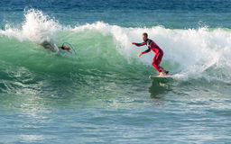 Surfing Royalty Free Stock Photography