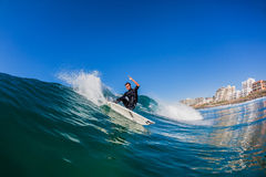 Surfing Rider Action Water Stock Photography