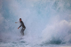 Surfing Solander Royalty Free Stock Images