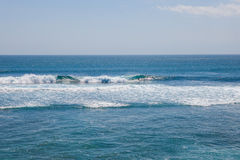 Surfing at Suluban beach, Bali, Indonesia Stock Image