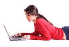 surfing sur Internet Image libre de droits