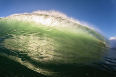 Surfing Surfer Escape Wave Power Royalty Free Stock Photo