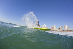 Surfing Surfer SUP Water stock photo