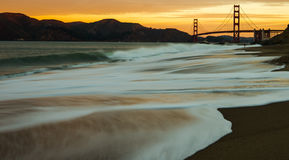 Surfing USA In San Francisco California Royalty Free Stock Image