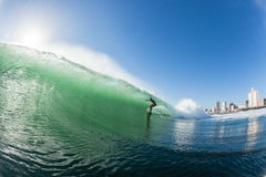 Surfing Waves Durban Water Action Royalty Free Stock Photos