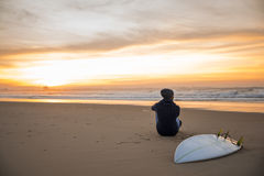 Surfing is a way of life Stock Photography
