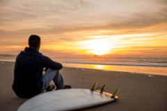 Surfing is a way of life Stock Image