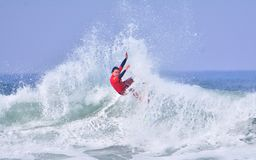 Surfing World Championship World Qualifying Series-WQS. Royalty Free Stock Photos