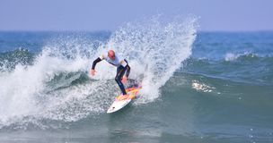 Surfing World Championship World Qualifying Series-WQS. Royalty Free Stock Photography