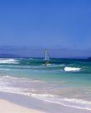 surfing wysp kanaryjskich Zdjęcia Royalty Free