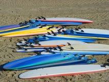 surfingbrädor Royaltyfri Fotografi