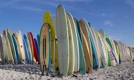 surfingbrädor Fotografering för Bildbyråer