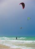 Surfingowów spadochrony Zdjęcie Stock