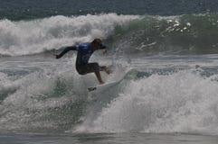 Surfingowa Chris oddział w akci Zdjęcie Royalty Free
